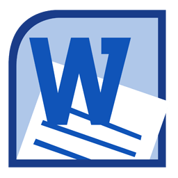 Иконка программы Microsoft Word 2010